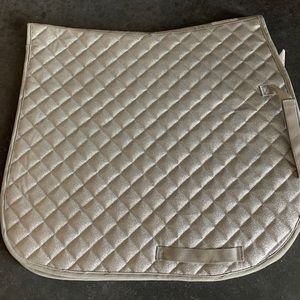 Brand New!!! Silver sparkle horse saddle pad